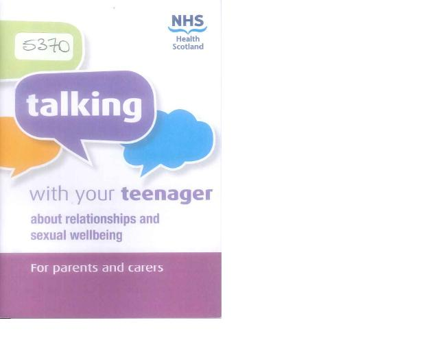 image - Talking With Your Teenager about Relationships and Sexual Wellbeing.